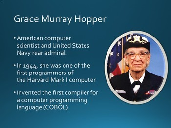 Famous Technology Inventors and Pioneers PowerPoint Slideshow