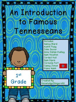 Social Studies - Famous Tennesseans for First Grade