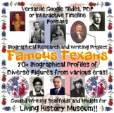 Famous Texans Living History Project