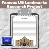 Famous US Landmarks Research Project