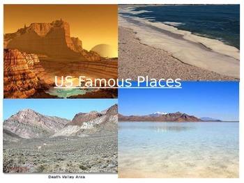 Famous US landforms