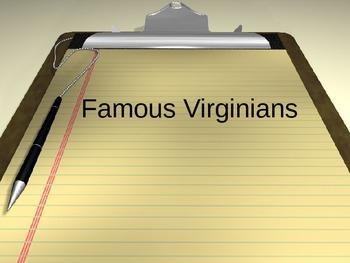 Famous Virginia PowerPoint