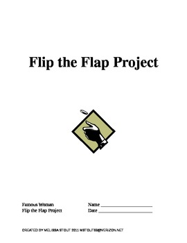Famous Woman Flip the Flap Biography Project