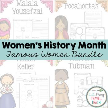 Famous Women Bundle for Primary Grades