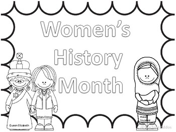Famous Women S History Month Coloring Pages And Informational Text