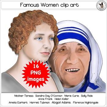 Famous Women Clip Art