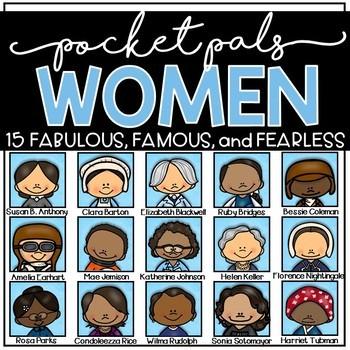 Famous Women Pocket Pals Bundle