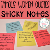 Famous Women Quotes [Sticky Notes]