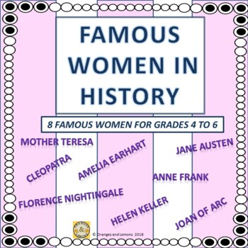 Famous Women in History (10 Famous Women from around the World)