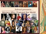 Famous Women in History- School Assembly or Trivia in the