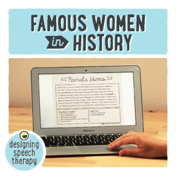 Women's History Month for Speech/Language Therapy