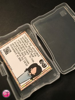 Women in History Task Cards With QR Codes