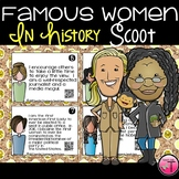 Women in History Scoot or Task Cards With QR Codes| Women'