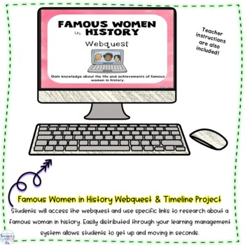 Famous Women in History and Current Events Timeline Research Project