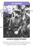 Women in Science - 10 A4 Posters