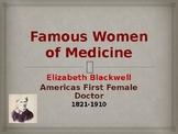 Famous Women of Medicine - Elizabeth Blackwell