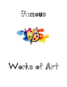 Famous Works of Art Book