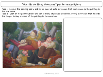 Famous Works of Art:  Fernando Botero