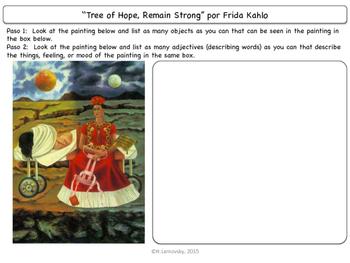 Famous Works of Art:  Frida Kahlo
