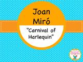 Famous Works of Art:  Joan Miró