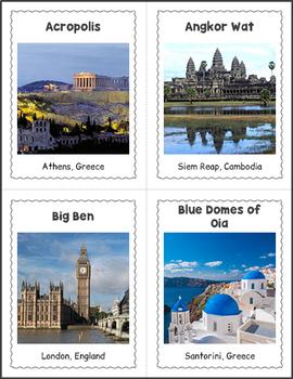 Famous World Landmarks BINGO