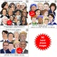 Famous people and historical figures realistic Clipart portraits GROWING BUNDLE