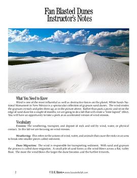 Fan Blasted Dunes (Geology)