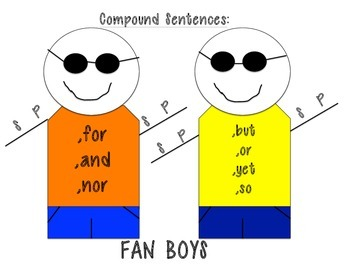 Fan Boys Anchor Chart
