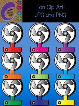 Fan Clip Art Color Images
