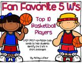 Fan Favorite 5 Ws Task Cards (Answering 5 W Questions in N