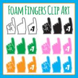 Fan Fingers / Foam Fingers / Hands Clip Art for Commercial Use