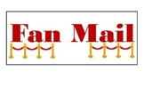 Fan Mail Sign-Hollywood Classroom Decor