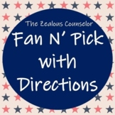 Fan N' Pick Board and Directions