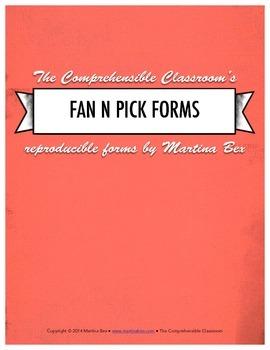 Form: Fan 'N' Pick