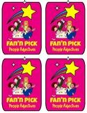 Fan N Pick Vocabulary Cards - Adjectives Set