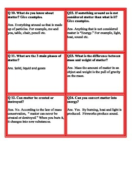 Fan and Pick Cards Matter (Kagan's Structure) Science