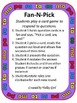 Fan and Pick: Syllables M, P, T, S and C - Abanica y Escoge