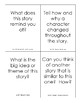 Fan-n-Pick Cards - F&P Guided Reading Goal Questions for Level M Fiction Texts