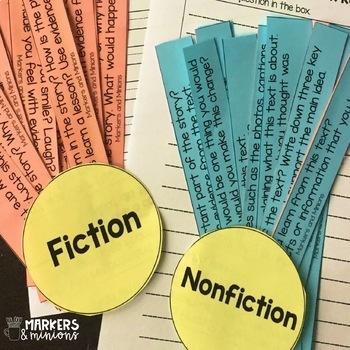 Fan n' Pick Questions for Fiction & Nonfiction (Benchmark Universe)