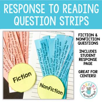 Fan n' Pick Questions for Fiction & Nonfiction (Benchmark