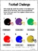 Fan-tastic Football!  FREE Open-ended worksheets for reinf