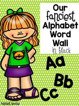 Fanciest Word Wall in Black