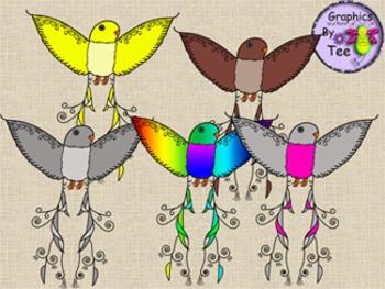 Fancy Bird Clipart