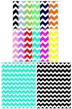 Background Templates - Chevron Paper Pattern Designs