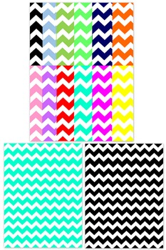 Background Templates - Chevron Paper Pattern Designs