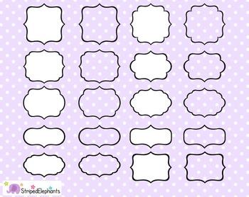 Fancy Clip Art Frames 3