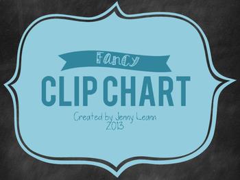 Fancy Clip Chart {FREEBIE!}