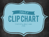 Fancy Clip Chart {FREEBIE!}
