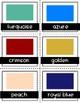 Fancy Color Cards {Descriptive Language} ESL