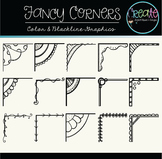 Fancy Corners - Digital Clipart